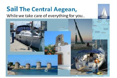 Sailing in Aegean, Turkey + Greece - Kusadasi