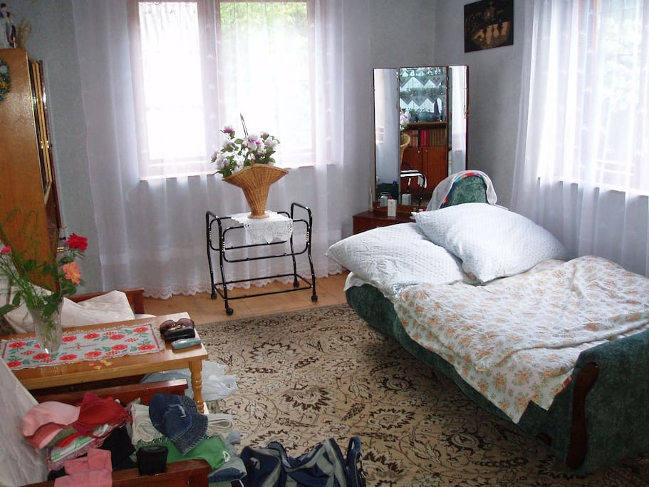 Bedroom, photo was taken during turists visit