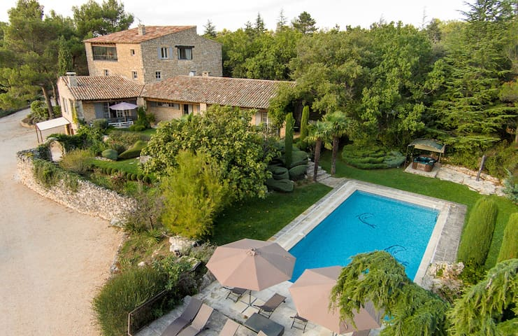 Mas 5*21 beds 8 rooms Cook 16€1 h from sea-Cassis- - Bonnieux - House
