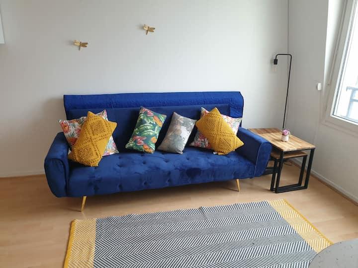 appartement très calme dans une résidence  fermée