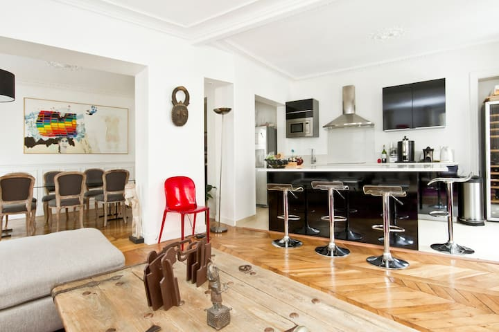 Wonderful flat in the center 80m2