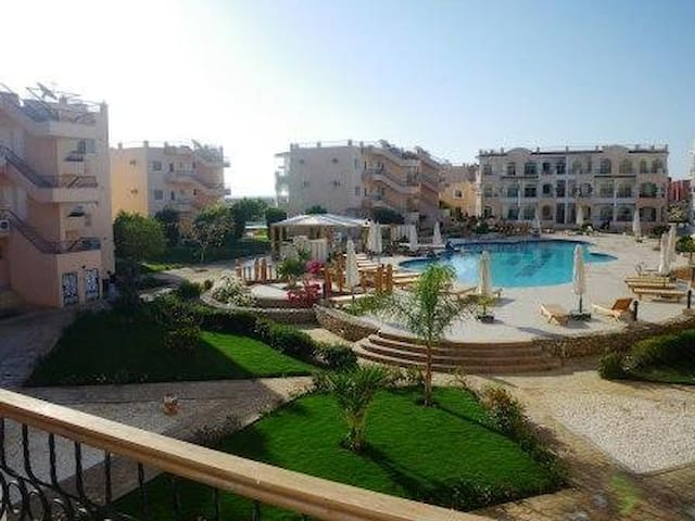 Stunning Top Floor 2 Bed + Roof Tce - Sharm El-Sheikh - Apartmen