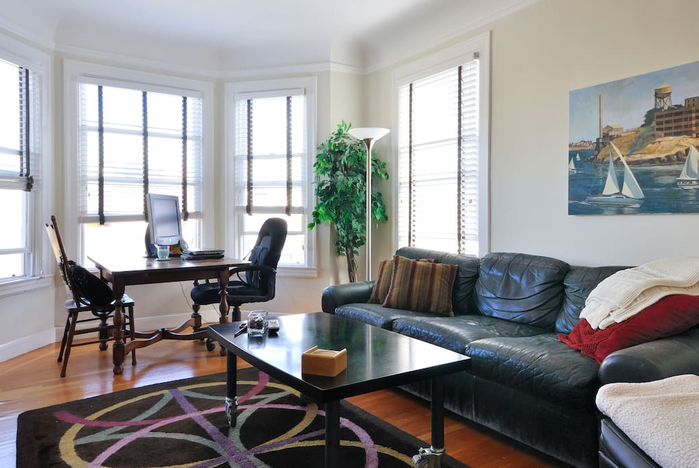Sunny Large 1 Bedroom Apartment In Marina District
