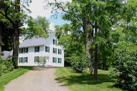 The 1840 Dutton Farm House  - Dummerston