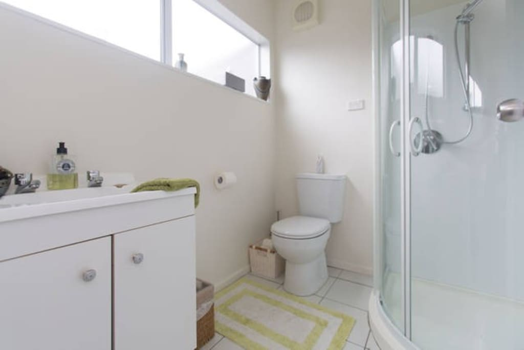 Bathroom, Downstairs and Shared