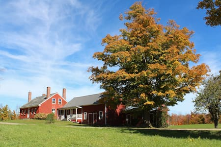 The 1799 Amos Brown farmstead - Whitingham - Haus