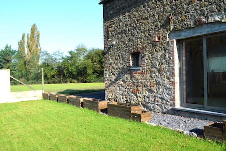 Beau gîte 2 chambres près de Mons, - Saint-Ghislain - Hus