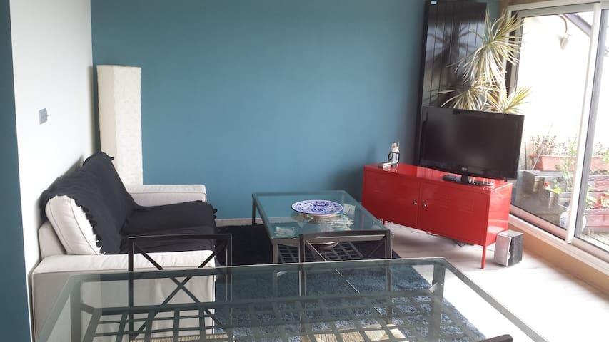 2 pièces terrasse - Divonne-les-Bains - Apartment