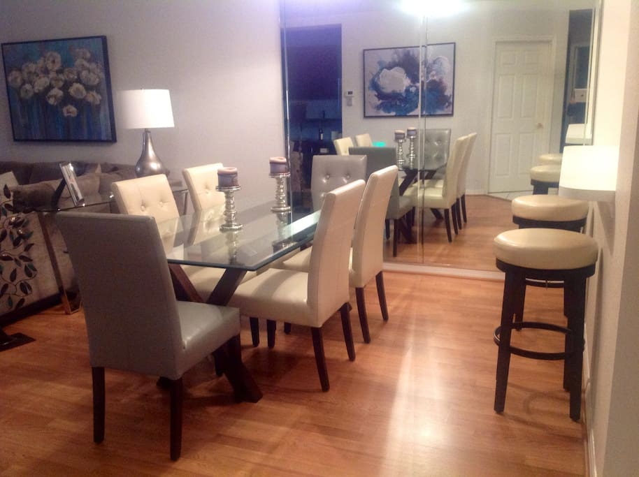 Dining Room with Sit-up Counter