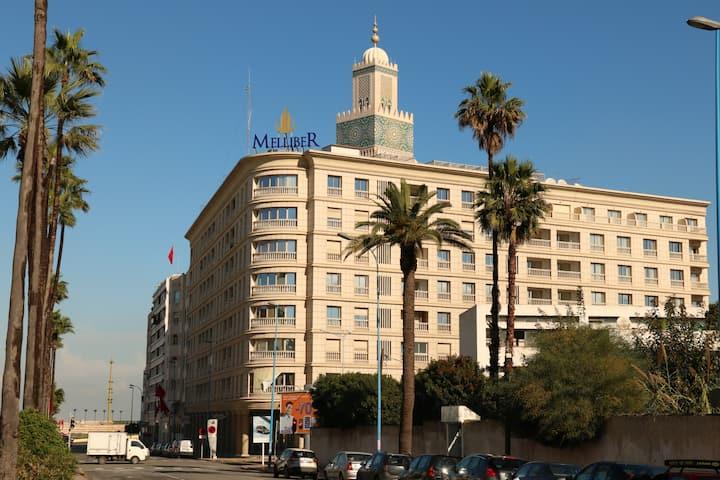 High floor Studio, near Gran Mosque Hassan II
