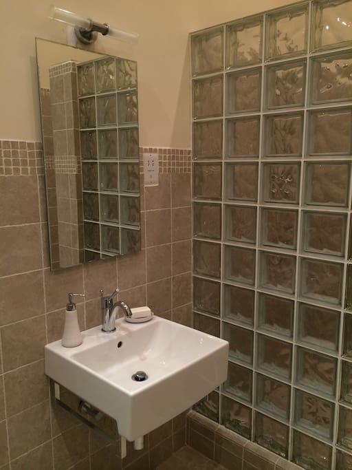 Ensuite with walk in shower