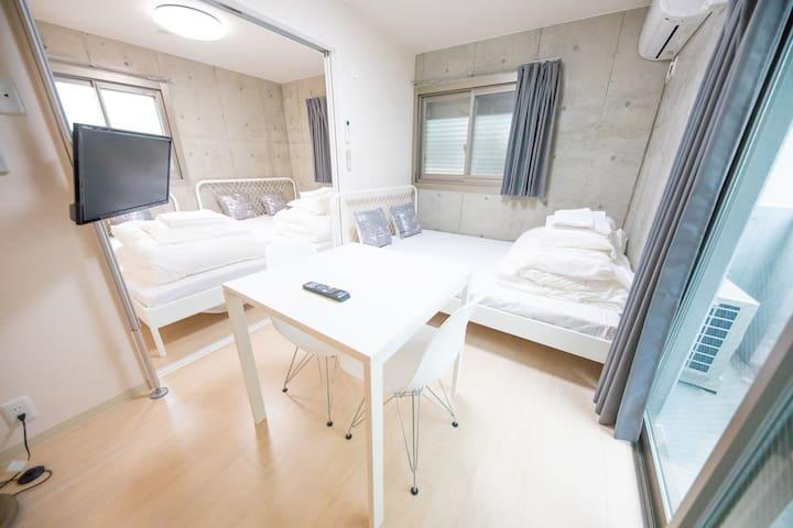 Shinjuku10min by train new apartment Max 5 ppl 203