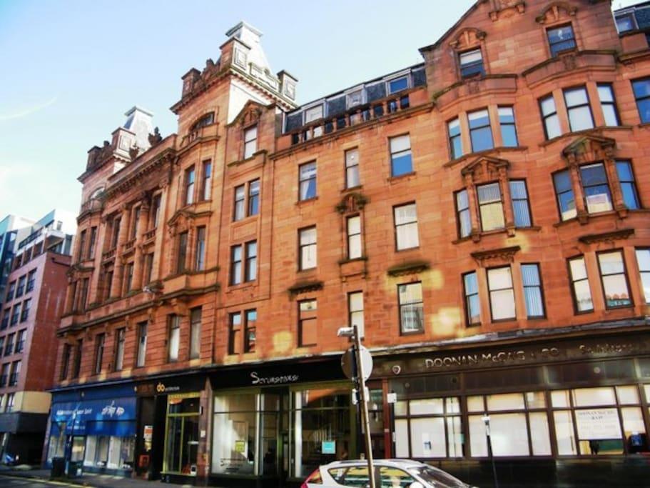 Glasgow City Centre 2 Bed Apartment *SUPERHOST* - Flats ...