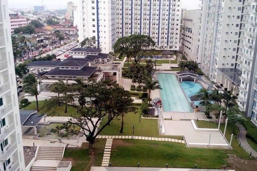 Panoramic view of the condominium..