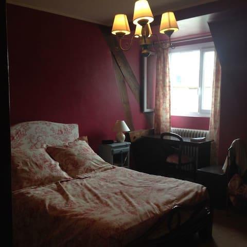 Chambre trés confortable,  proche du centre ville - Dieppe