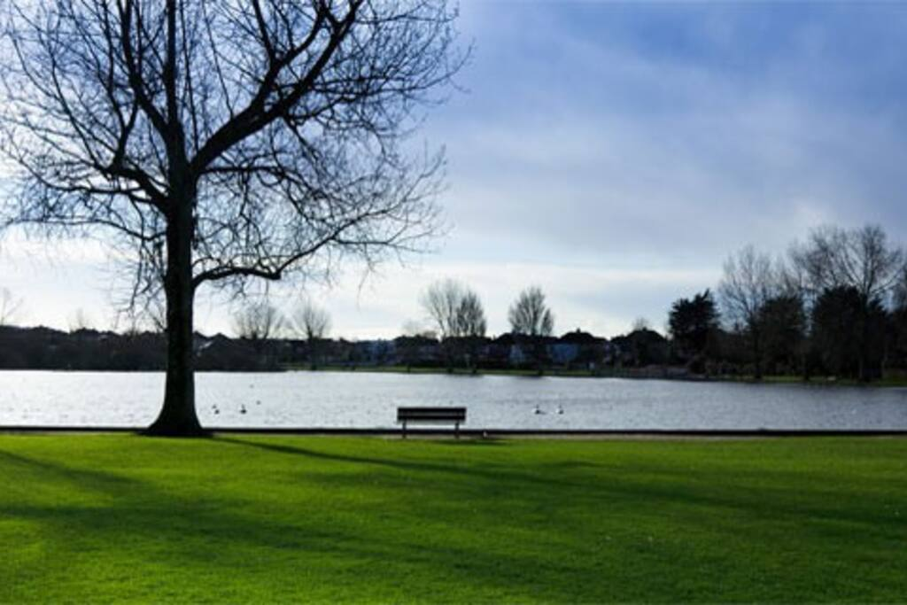 The Lough, lovely to walk around