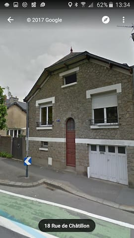 Jolie maison de pierre proche gare de rennes - Maisons à louer à ...