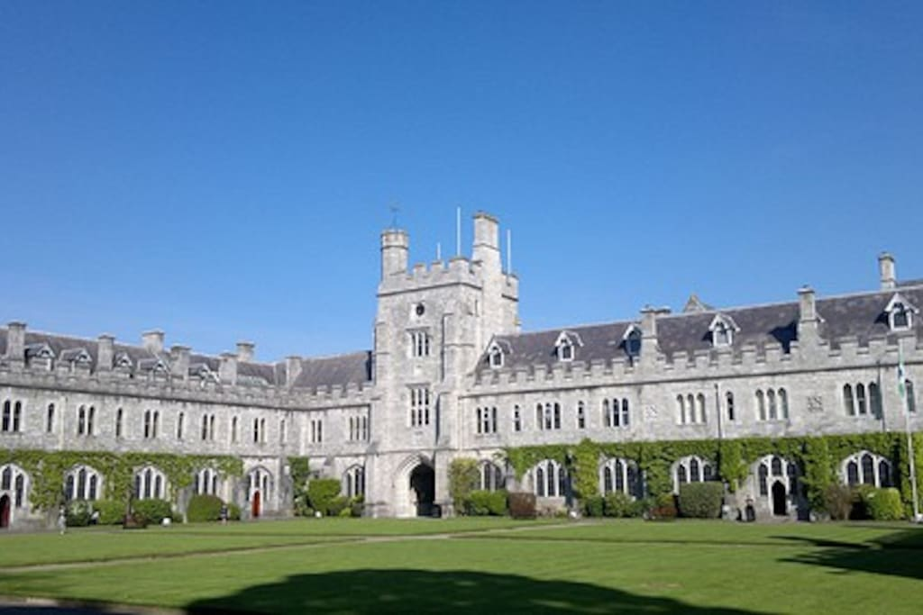 University College Cork, again lovely to walk around, visit the Gluckman Museum, follow on with a walk through Fitzgerald's Park