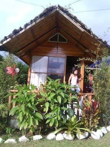 Cabana pequeña de alquiler