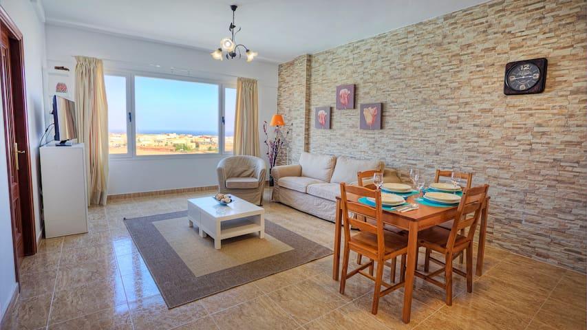 4PAX - Apartment 2A - Fuerteventura - Puerto del Rosario - Daire
