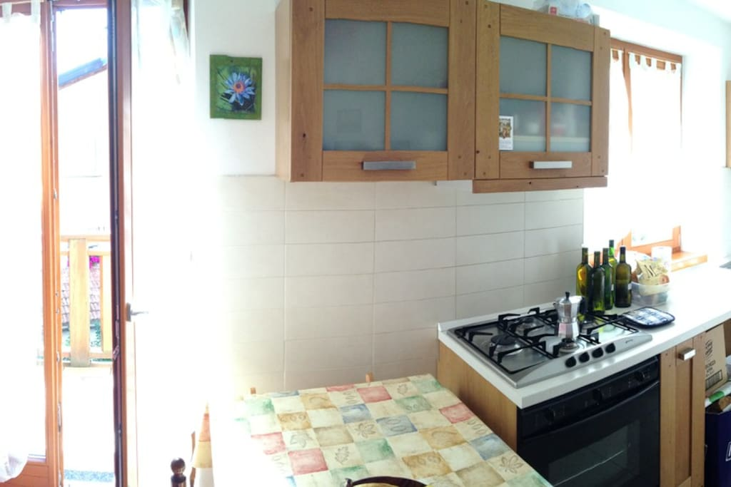 panorama kitchenette