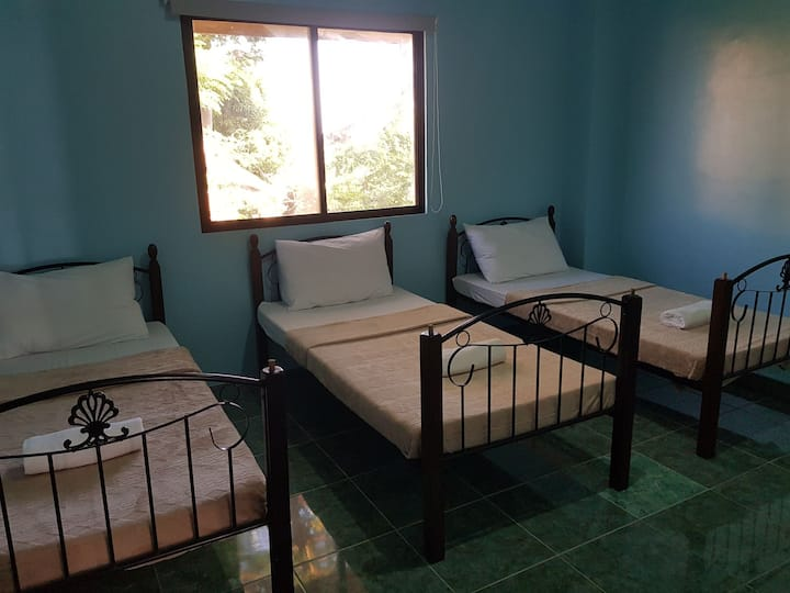 SNS6 Private Room with Bathroom in Dumaguete City