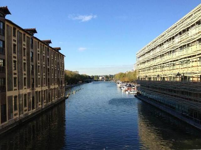 Jolie studette à 2 pas du bassin de la Villette