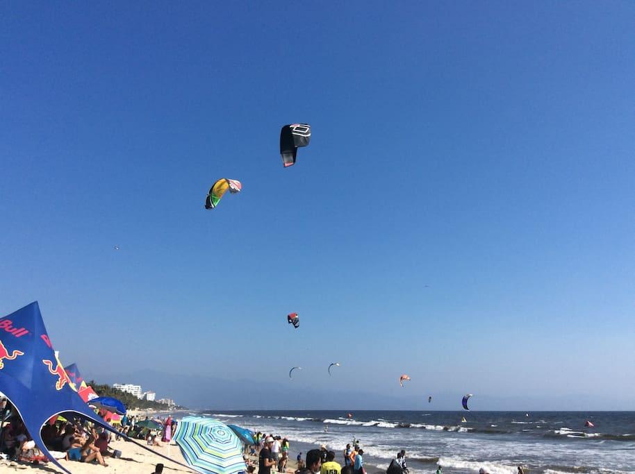 Playa Nuevo Vallarta a solo 8 minutos de la propiedad.