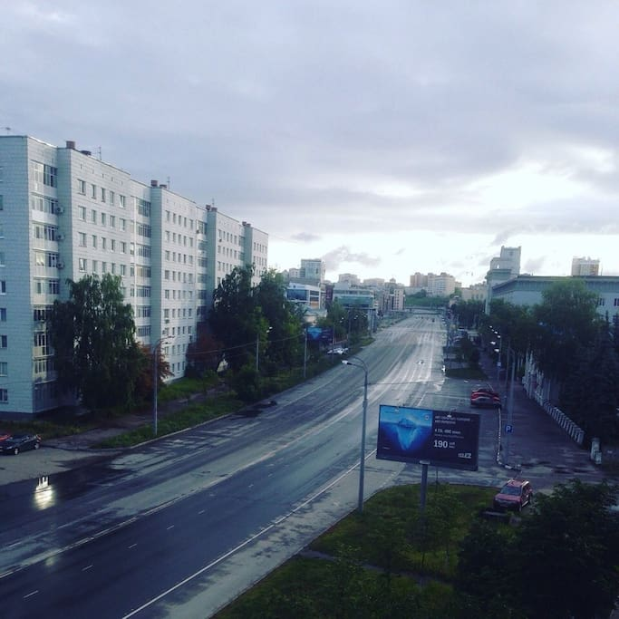 Вид из окна/View from the window