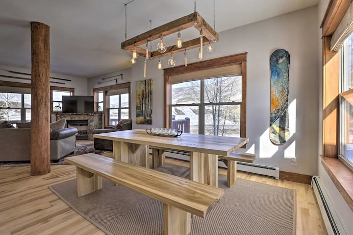 NEW! Upscale Dillon Cabin - Shuttle to Ski Resorts