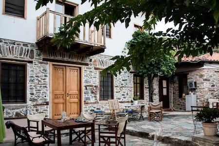 House/Mansion Hatzimichali, Metaxochori, Agia