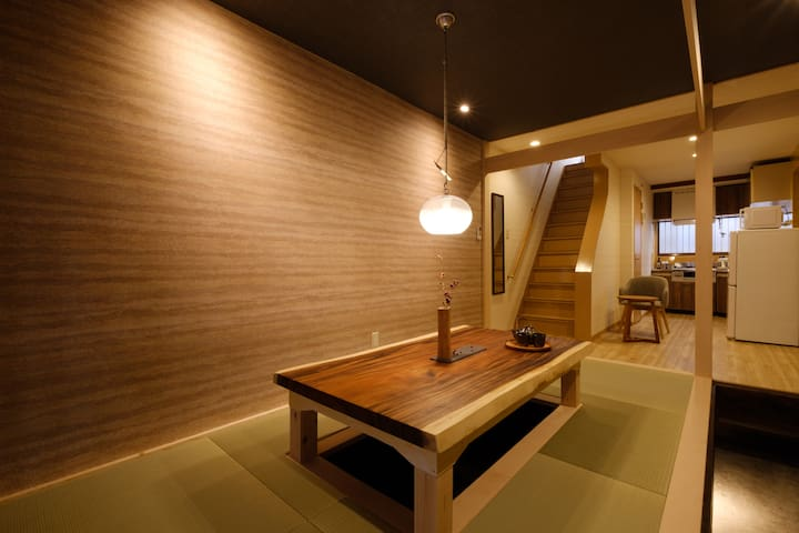 Designer house/5 mins to Namba/Bijou Suites Will