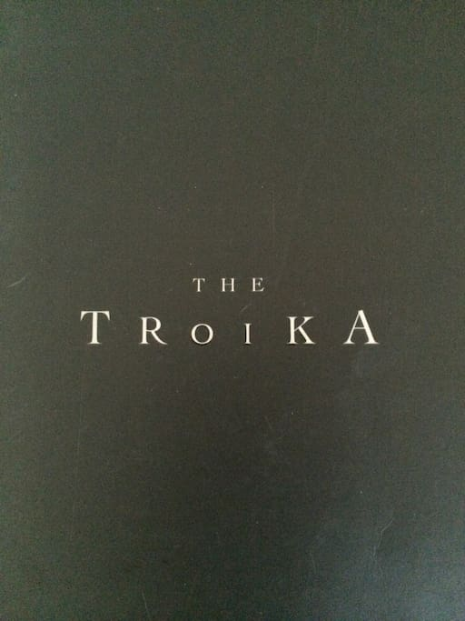 The Troika, heart of KL. The building is designed by Fosters and Partner, world renowned Architect Firm. Famous restaurants located in the building itself : Cantaloupe (French Fine dining), Strato (Italian casual), Feugo (South American), Kampachi (Japane