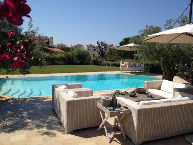 Greek Villa in the Peloponnese