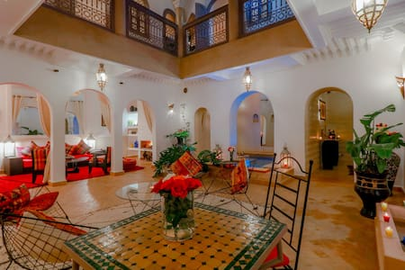 Riad Couleur Médina - Confort & Heating pool