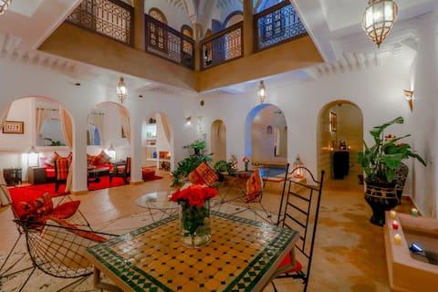 Riad Couleur Médina - Confort & Heating pool