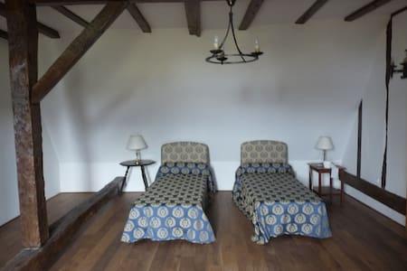 Chambres dans manoir - 12km circuit - Roézé-sur-Sarthe