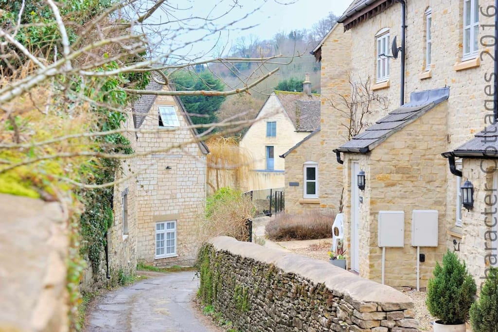 Maltings, tucked away on a quiet road in Nailsworth