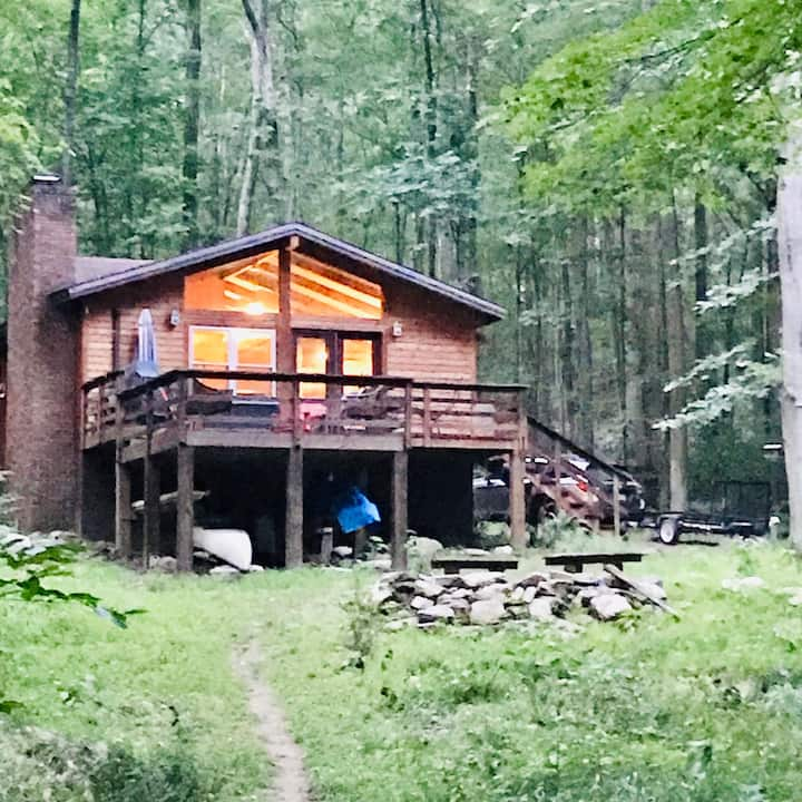 Cozy Cabin on the Cacapon River