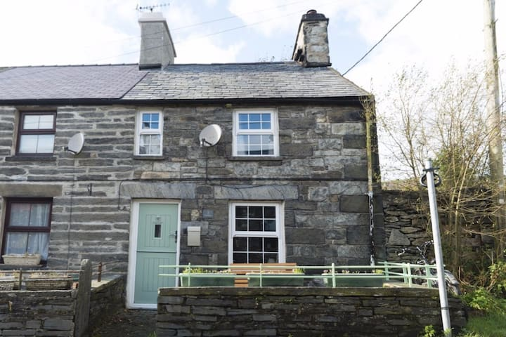 Delfryn, Penmachno. Traditional miner's cottage