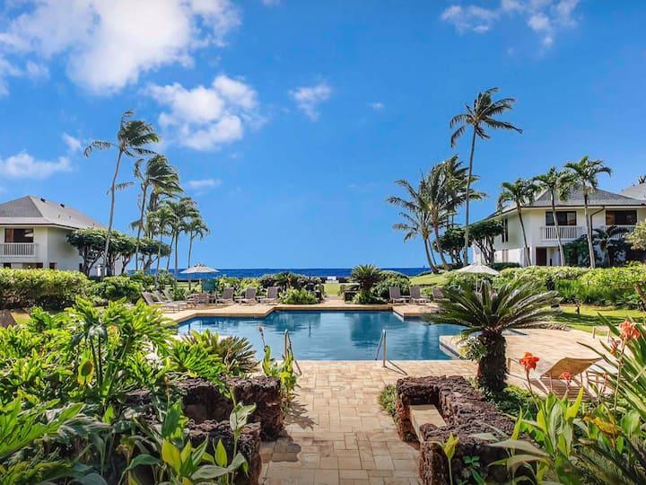 New! Poipu Beach,  Sweeping Ocean & Pool Views