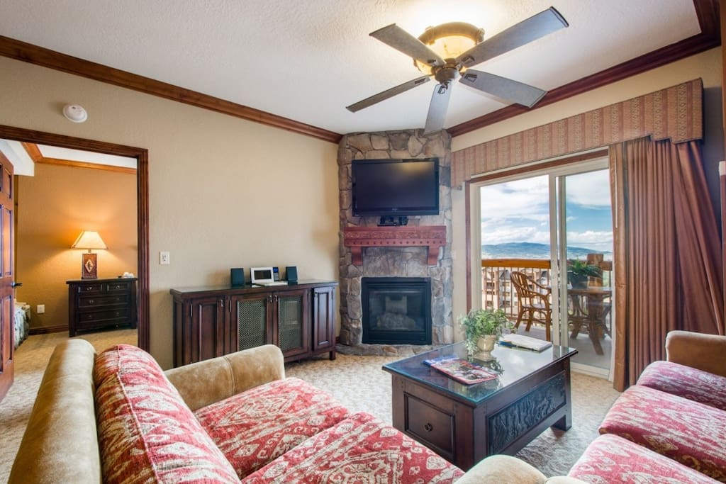 When you first enter the property, you will notice a fantastic view from both the living area and master bedroom.
