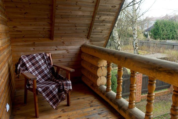 Семья • Деревянный дом целиком в ❤️ Светлогорска