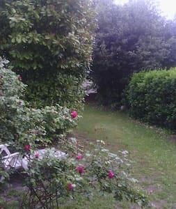 Chambre donnant sur jardin, grd lit - Gradignan - Bed & Breakfast