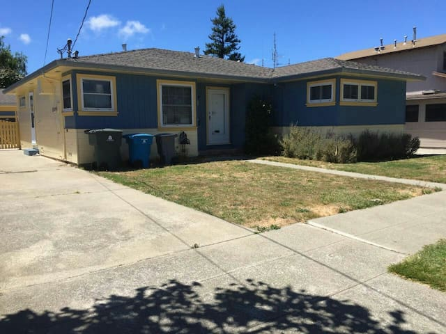 Heated house 5 mins from SFO airport