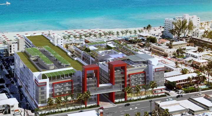 BEACH HOLLYWOOD Resort Beachfront Rooftop Pool