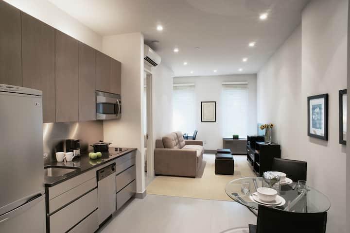 Modern 1 Bedroom 4FL w/Marble Bthr