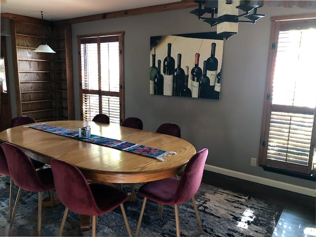 Dining/Wining or Conference Room
