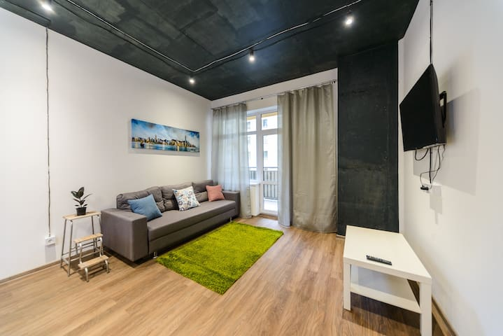 Urban Studio w/ balcony · NIGHT CHECK-IN Available
