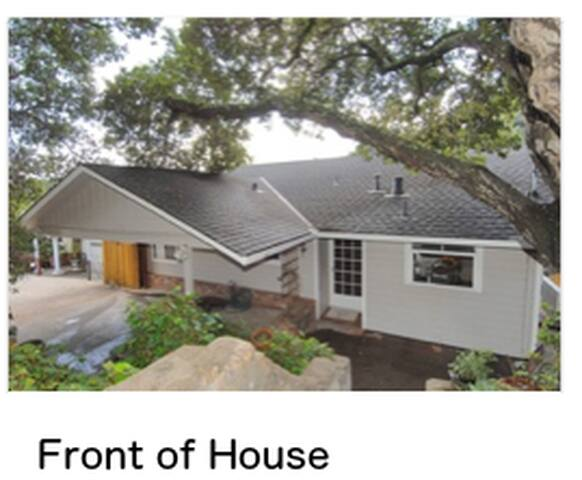 Spacious home close to SF and SJ - Belmont - Hus